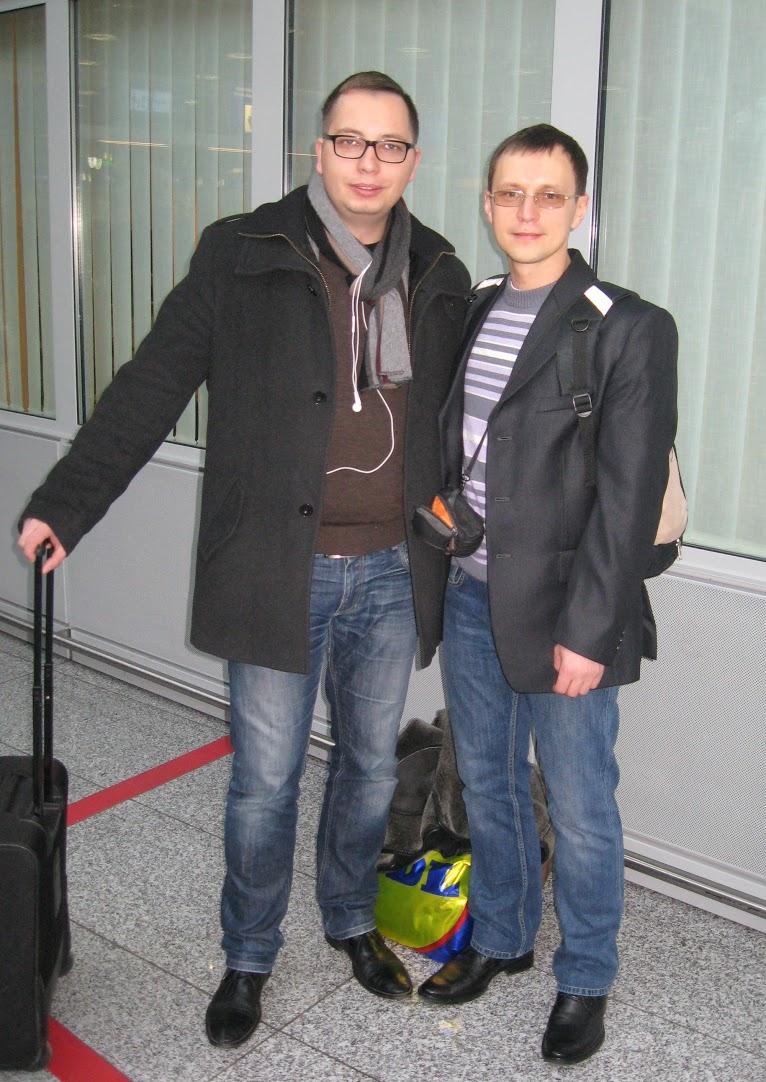 Viktar and Michal